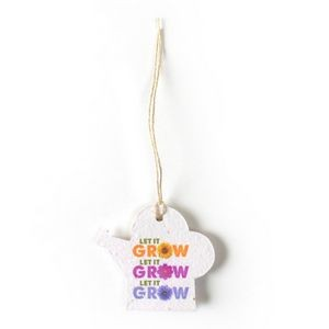Seed Paper Holiday Ornament - R