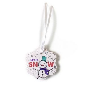 Seed Paper Holiday Ornament - V