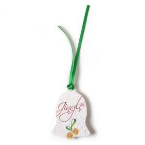 Seed Paper Holiday Ornament - AD