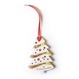Seed Paper Holiday Ornament - AG